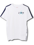 LL436 【メール便対応】 キッズ Jordan ジョーダン Tシャツ 白紺アイスブルー