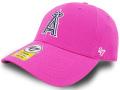 KC714 ジュニア MLB ロサンゼルス・エンゼルス アジャスタブルキャップ '47 Los Angeles Angels Cap メジャーリーグ ベースボール キッズ 帽子 ピンク白紺