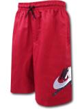 PK117 ジュニア Jordan Jumpman Classics Poolside Shorts ジョーダン キッズ ハーフパンツ 赤黒 【メール便対応】