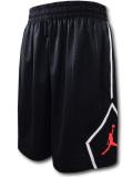SJ932 メンズ ジョーダン バスケットボール ショーツ Jordan Jumpman Diamond Shorts バスパン 黒白インフラレッド【ルーズフィット】