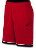 KL699 メンズ ナイキ バスケットボール メッシュショーツ Nike Dri-Fit Classic Shorts バスパン 赤黒白【ドライフィット】 【ルーズフィット】