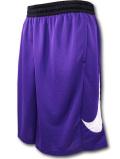 KL701 メンズ ナイキ バスケットボール ショーツ Nike HBR Basketball Shorts バスパン 紫白黒【ドライフィット】 【ルーズフィット】