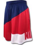 KL702 メンズ ナイキ バスケットボール ショーツ Nike Dri-FIT Basketball Shorts バスパン 赤紺白【ドライフィット】 【ルーズフィット】