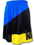 KL703 メンズ ナイキ バスケットボール ショーツ Nike Dri-FIT Basketball Shorts バスパン 黒青黄色【ドライフィット】 【ルーズフィット】
