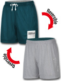 KL700 メンズ ナイキ リバーシブル メッシュショーツ Nike Reversible Shorts バスパン ダークティール灰【ドライフィット】【ルーズフィット】