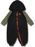 BY241 ベビー ナイキ フード付き もこもこカバーオール Nike Infant Coverall ベビー服 赤ちゃん 黒ミリタリーグリーン