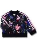 BO048 ベビー アディダス ジャケット adidas Infant Jacket ベビー服 子供用 黒ピンク 【メール便対応】