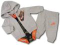 BY258 ベビー ナイキ パーカー&パンツ セットアップ 3点セット Nike Infant Set 赤ちゃん ベビー服 灰緑オレンジ