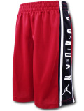 SK474 ジュニア ジョーダン バスケットボールショーツ Jordan Youth Shorts キッズ ユース バスパン 赤黒白【ドライフィット】 【メール便対応】