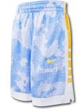 SK473 ジュニア ナイキ バスケットボールショーツ Nike Youth Shorts キッズ バスパン 水色白黄色【ドライフィット】 【メール便対応】
