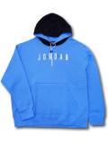 HJ092 メンズ ジョーダン プルオーバーパーカー Jordan Jumpman Air Pullover Hoodie 水色黒白