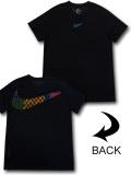 KL710 メンズ ナイキ トレーニング Tシャツ Nike Dri-Fit Academy Training スポーツウェア 黒オリオンブルー【ドライフィット】 【メール便対応】