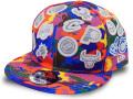 CN225 ニューエラ NBA チームロゴ スナップバックキャップ New Era Team Logos All Over Snapback Cap 帽子 マルチカラー
