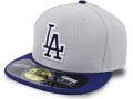 FB492 ニューエラ MLB メジャーリーグ ロサンゼルス・ドジャース キャップ New Era Los Angeles Dodgers Cap ベースボール  帽子 灰青