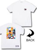 "KO479 メンズ トミーヒルフィガー x スペースジャム Tシャツ Tommy Hilfiger x Looney Tunes ""Space Jam"" A New Legacy T-Shirt 白 【メール便対応】"