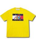 "KO478 メンズ トミーヒルフィガー x スペースジャム Tシャツ Tommy Hilfiger x Looney Tunes ""Space Jam"" A New Legacy T-Shirt 黄色 【メール便対応】"