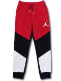 PK143 ジュニア ジョーダン スウェットパンツ Jordan Fleece Pants キッズ 長ズボン 赤黒白