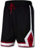 SJ933 メンズ ジョーダン バスケットボール ショーツ Jordan Jumpman Diamond Shorts バスパン 黒白赤