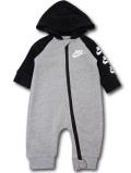 BY263 ベビー ナイキ フード付き カバーオール Nike Infant Coverall ベビー服 赤ちゃん 灰黒白 【メール便対応】
