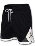 SJ934 メンズ ジョーダン バスケットボール ショーツ Jordan Dri-FIT Air Diamond Shorts バスパン 黒白灰【ドライフィット】