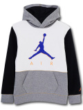 OK943 ジュニア ジョーダン パーカー Jordan Pullover Hoodie キッズ ユース 灰白黒