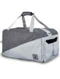DB165 ジョーダン ダッフルバッグ Jordan Pivot Duffel Bag スポーツバッグ ピュアプラチナダークグレー