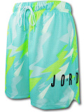 SJ936 メンズ ジョーダン バスケットボール メッシュショーツ Jordan Jumpman Air Printed Mesh Shorts バスパン エメラルドグリーン黒