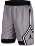SJ937 メンズ ジョーダン バスケットボール ショーツ Jordan Jumpman Diamond Shorts バスパン 灰黒白【ルーズフィット】