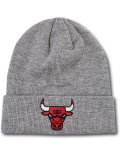 KC723 ジュニア NBA シカゴ・ブルズ ニットキャップ Jordan Chicago Bulls Beanie キッズ ビーニー 帽子 灰赤 【メール便対応】