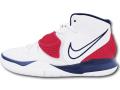 "KS679 キッズ/ジュニア Nike Kyrie 6 (GS) ""USA"" ナイキ ""カイリー・アービング"" バスケットシューズ バッシュ 白"