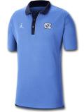 JP247 メンズ Jordan NCAA ノースカロライナ大学 ターヒールズ North Carolina Tar Heels Polo ジョーダン カレッジポロシャツ 水色紺