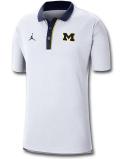 JP245 メンズ Jordan NCAA ミシガン大学 ウルヴァリンズ Michigan Wolverines Polo ジョーダン カレッジポロシャツ 白紺