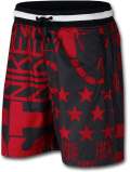 KL430 Nike Sportswear Printed Shorts ナイキ ショーツ 黒赤白