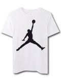 LL267 【メール便対応】 キッズ Jordan Jumpman ジョーダン Tシャツ 白黒