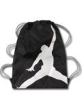 JB875 Jordan Jumpman Gymsack ジョーダン ナップサック 黒メタリックシルバー灰