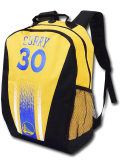 NP818 NBA ウォリアーズ ステフィン・カリー リュックサック Golden State Warriors Curry Backpack バックパック 黄色青黒
