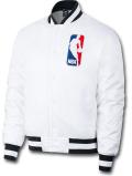 NJ348 メンズ Nike SB x NBA Bomber Jacket ナイキ ボンバージャケット 中綿ジャケット 白黒