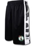 BN688 メンズ UNK NBA Boston Celtics Camo アンク ボストン・セルティックス ショーツ バスパン 黒白灰