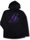 NJ350 メンズ Fanatics NBA L.A. Lakers Hoodie ロサンゼルス・レイカーズ パーカー アントラシート紫