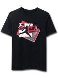LL232 【メール便対応】 キッズ Jordan ジョーダン Tシャツ 黒赤白
