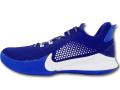 "NS782 メンズ Nike Mamba Fury TB ナイキ ""コービー・ブライアント"" Kobe Bryant バスケットシューズ バッシュ ディープロイヤルブルー白【箱なし】"