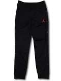 PK077 キッズ Jordan Pants ジョーダン スナップボタン ウォームアップパンツ 黒赤