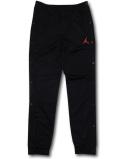 PK136 ジュニア ジョーダン スナップボタン トレーニングパンツ Jordan Kids Pants キッズ ユース 長ズボン 黒赤