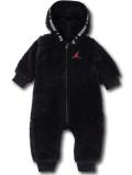 BT119 ベビー ジョーダン フード付き もこもこカバーオール Jordan Coverall ベビー服 赤ちゃん 黒赤