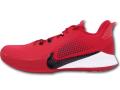 "NS784 メンズ Nike Mamba Fury TB ナイキ ""コービー・ブライアント"" Kobe Bryant バスケットシューズ バッシュ ジムレッド黒白【箱なし】"