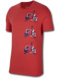 JT030 メンズ Jordan Jumpman Classics T-Shirt ジョーダン ジャンプマン クラシック Tシャツ インフラレッド紺 【メール便対応】