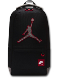 JB110 Jordan Jumpman Elephant Print Backpack ジョーダン リュックサック バックパック 黒灰赤