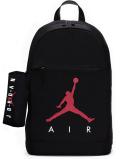 JB107 Jordan Backpack & Pencil Case ジョーダン リュックサック&ペンケース セット 黒赤白