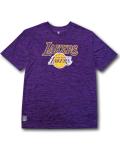 NB533 メンズ UNK NBA Los Angeles Lakers アンク ロサンゼルス・レイカーズ トレーニングシャツ 紫黄色 【メール便対応】