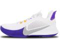 "KS713 キッズ/ジュニア Nike Mamba Fury ""Lakers"" ナイキ ""コービー・ブライアント"" Kobe Bryant バスケットシューズ バッシュ 白フィールドパープル"